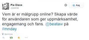 2014-10-21 14_05_06-Pia Olave på Twitter_ _Vem är er målgrupp online_ Skapa värde för användaren som